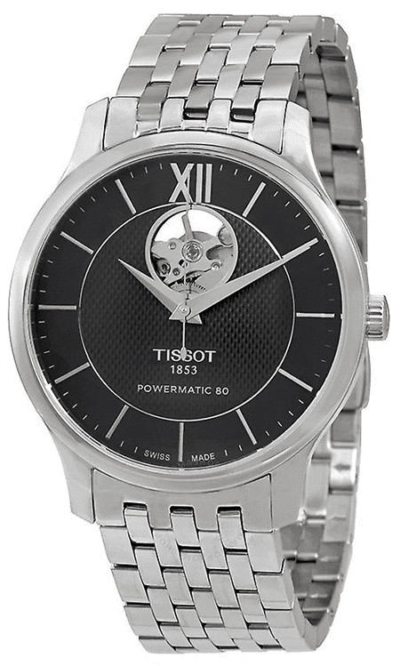 Immagine di Orologio Automatico Tissot Tis Tradition Powermatic 80 Open Heart | T063.907.11.058.00