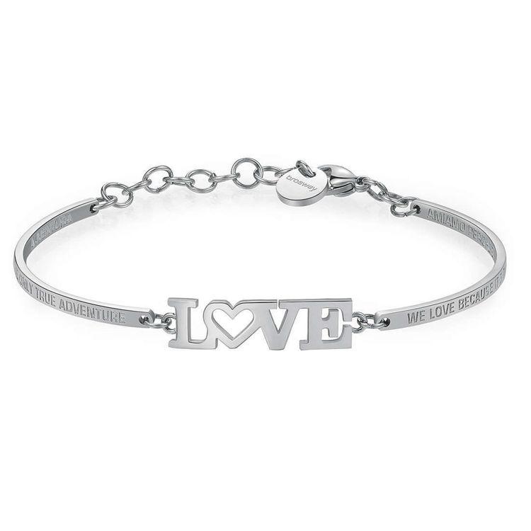 Immagine di Bracciale Brosway Chakra Love: Promessa, Amore,Legame   BHK260