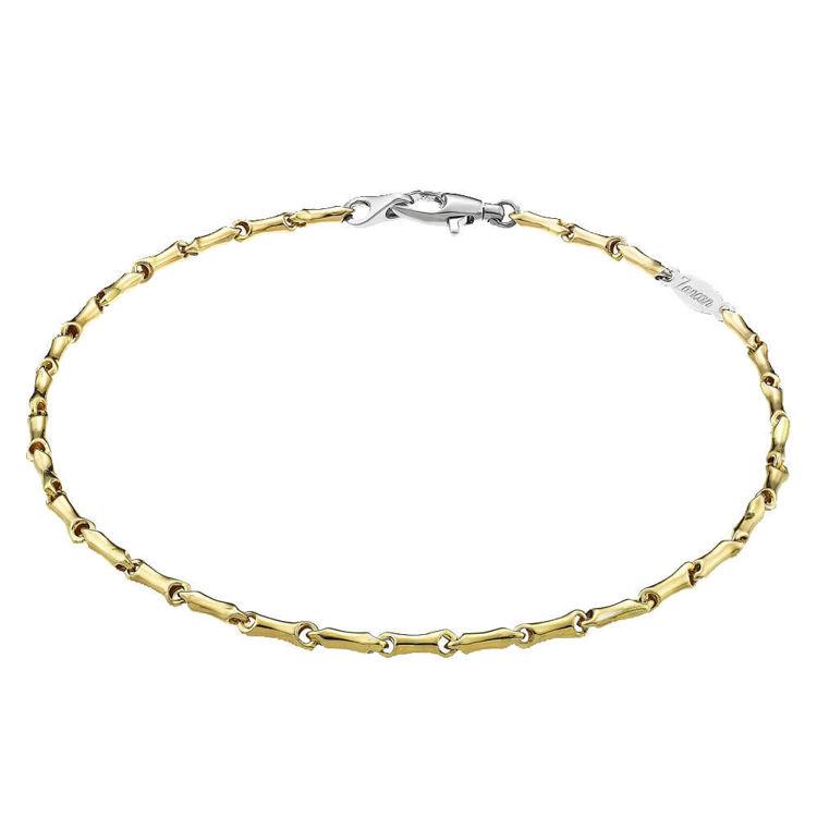 Immagine di Bracciale Zancan in Oro Giallo e Oro Bianco. EB550GB