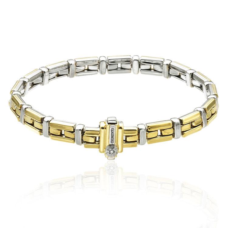 Immagine di Bracciale Chimento Donna in Oro Giallo e Oro Bianco 1B01290ZBB
