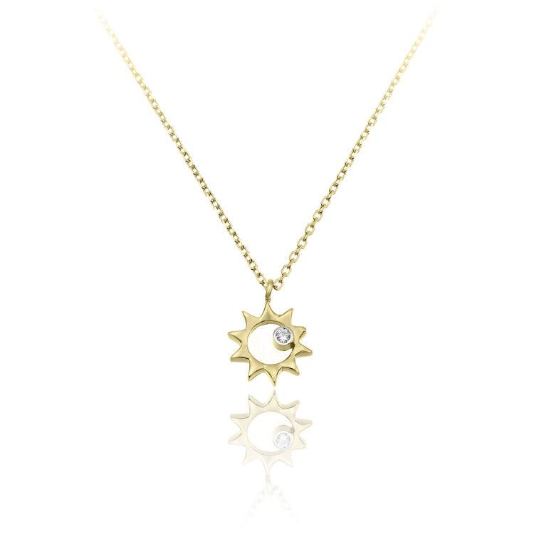 Immagine di Collana Chimento Donna in Oro Giallo 1G09670B11
