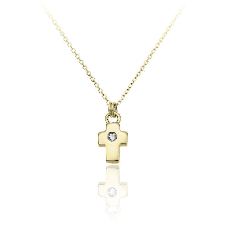 Immagine di Collana Chimento Donna in Oro Giallo e Diamanti 1G09650B11