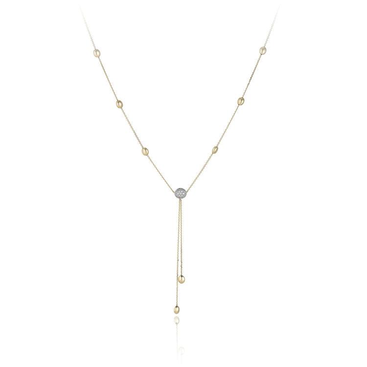 Immagine di Collana Chimento Donna in Oro Giallo e Diamanti 1G01439B12