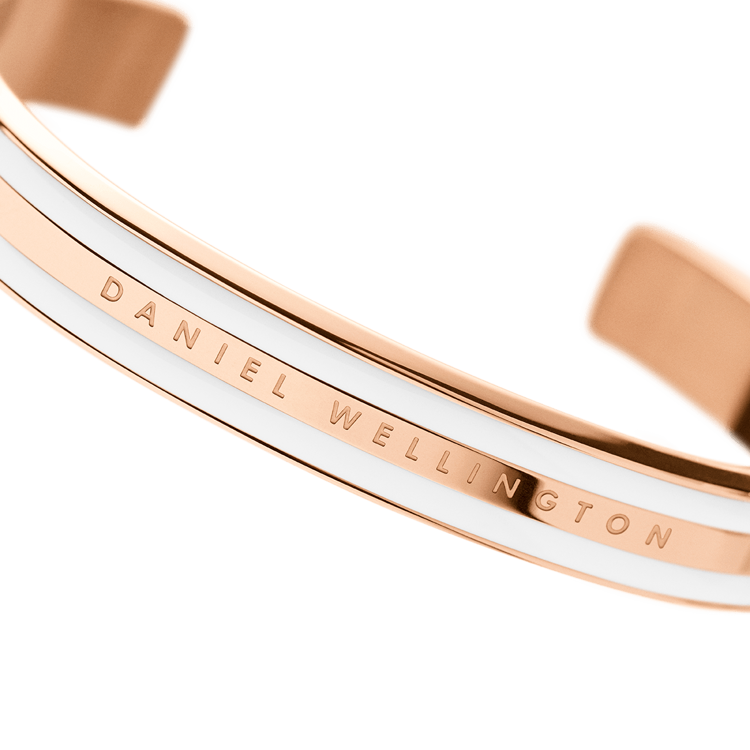 Immagine di Bracciale Daniel Wellington Classic Bracelet Satin White Rose   DW00400007