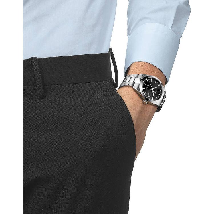 Immagine di Orologio Automatico Tissot Gentleman Powermatic 80 Silicium   T127.407.11.051.00