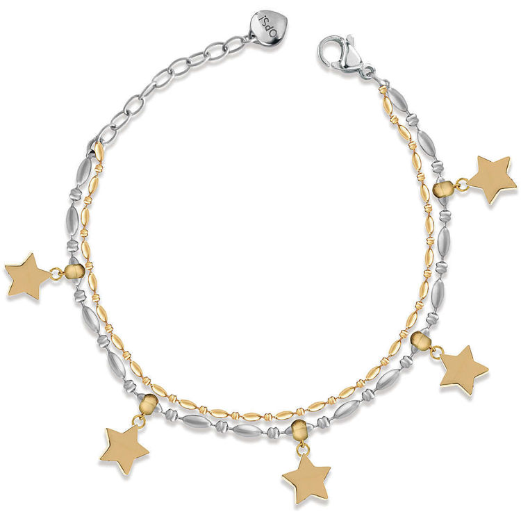 Immagine di Bracciale Donna Con Stelle Ops Objects Twice | OPSBR-654
