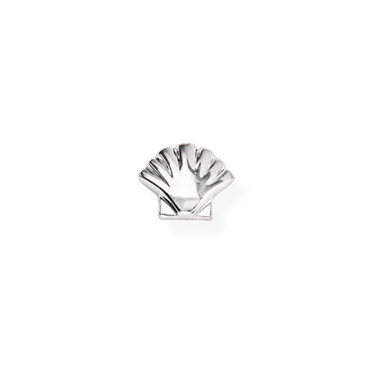 Immagine di Mono Orecchino Conchiglia In Argento Gioielli Amen   EB24