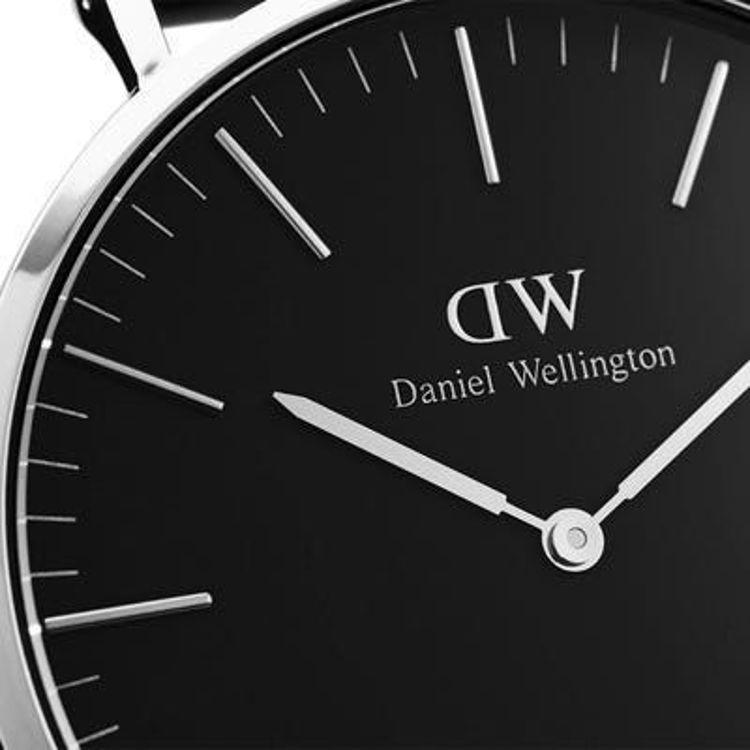 Immagine di Orologio Daniel Wellington Classic Black Cornwall 40mm Silver | DW00100149